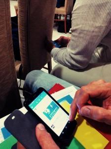 Médicos tuiteando tras taller semergen evaanyon