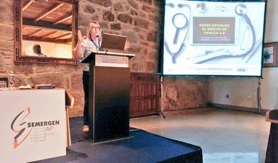 redes sociales médicos SEMERGEN Galicia